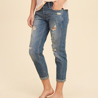 Girls Hollister Low-Rise Boyfriend Jeans | Girls Bottoms | HollisterCo.com