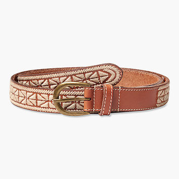 Textured Embroidery Belt | Lucky Brand