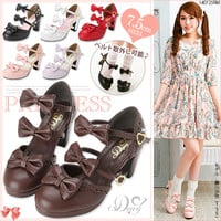 2WAY Ribbon strap Lolita sandals◆8/5 ships planned