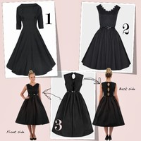 3 Pretty 1950's and 1960's Inspired Vintage Dresses | Pretty-a-Porter