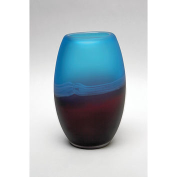 Park Avenue Collection Palo Duro 8In Glass Vase