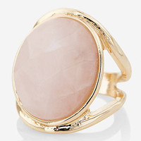 Faceted Stone Cocktail Ring from EXPRESS