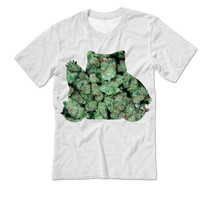 WEED Snorlax Pokemon Tee shirt | Pokemon Shirt | Marijuana | Video Game Shirts | Gamer T-Shirt | Snorlax Shirts | Tumblr | MADE in USA