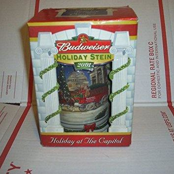 Budweiser Holiday Stein 2001