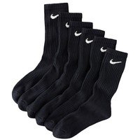 Nike 6-pk. Performance Crew Socks - Boys 7-11, Size: