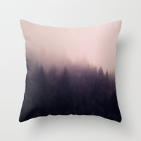 Warm winter Throw Pillow by Printapix
