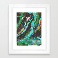 Amplify Framed Art Print by duckyb