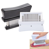 Meat Tenderizer Professional Practical Meat Tenderizers with 48 Sharp Stainless Steel Blades For Kitchen Tool