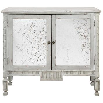 Okorie Gray Console Cabinet By Uttermost