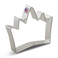 Ann Clark Crown King Cookie Cutter - 5 Inches - Tin Plated Steel