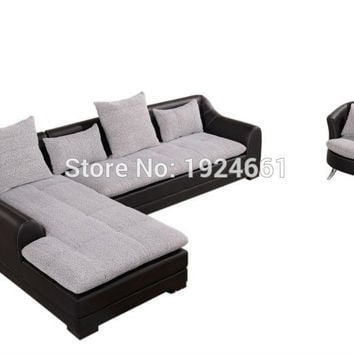 Bean Bag Armchair Design Living Room Classic European Furniture Corner Wooden Sofa Sets Sillones Modernos Sectional sofa