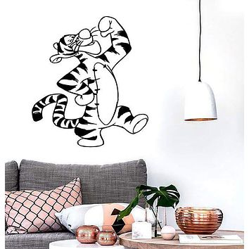 Wall Stickers Vinyl Decal Winnie The Pooh Cartoon Tigger Kids Room (ig1047)