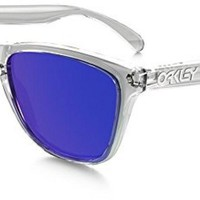 OAKLEY Men 9013 Sunglasses, Polished Clear