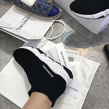 Balenciaga Speed Low Slip-On Men Women Sneaker