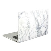 Newegg.Com - GMYLE(R) Hard Case Print Crystal for MacBook Air 13 inch - White Marble Pattern Crystal Shell Clip Snap On Case Cover