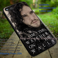 Jon Snow Game of Thrones Quote iPhone 6s 6 6s+ 5c 5s Cases Samsung Galaxy s5 s6 Edge+ NOTE 5 4 3 #quote dt