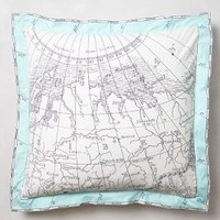 Tradewinds Euro Sham by Anthropologie Multi Euro Sham House & Home