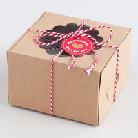 Scalloped Confectionery Boxes, Set of 6