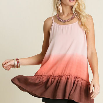 Lakeside Lunch Tank - Pink