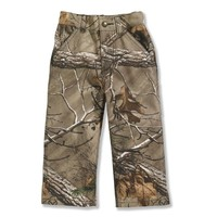 Infant/Toddler Boys' Washed Camo Pant