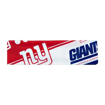 NFL New York Giants Stretch Headband Womens Ladies  NFL Team Apparel