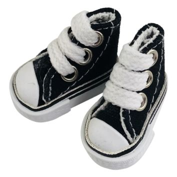 ANGELA Doll CONVERSE SNEAKERS SHOES black