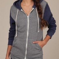 Women's Color-Block Rocky Zip Hoodie