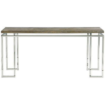 Gray Pearl Console Table