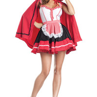 Romantic Red Riding Hood