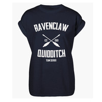 Ravenclaw Quidditch Team T-shirt Harry Potter Inspired Hogwarts - Free Name Print On Back! Perfect Xmas Gift!