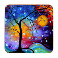 Madart Inc. Winter Sparkle Custom Clock