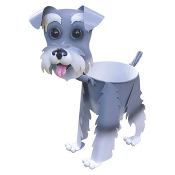 Paul the Schnauzer Dog Planter - 12.75""