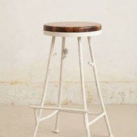 Forest Barstool by Anthropologie White One Size Furniture