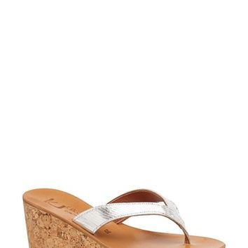 K.Jacques St. Tropez 'Diorite' Wedge