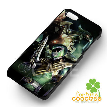Power Rangers Green - 123zz for  iPhone 6S case, iPhone 5s case, iPhone 6 case, iPhone 4S, Samsung S6 Edge