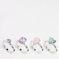 Warehouse Mixed Shape Ring Multipack