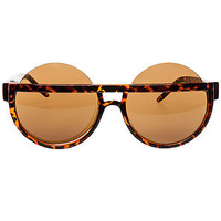 The Topless Sunglasses in Tortoise Shell