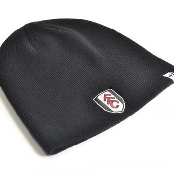 Fulham FC Knitted Hat -  47 Brand Black