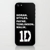 One Direction iPhone & iPod Skin by Amy. | Society6
