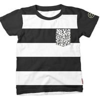 Stripe & Pocket Child's Tee