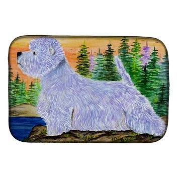 Westie Dish Drying Mat SS8418DDM