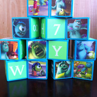 Monsters University Building Blocks