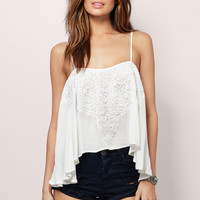 It's Raining Lace Cami