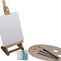 Art Advantage Mini Easel Acrylic Paint Set