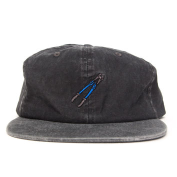 Bolt Cutter City Cap (Black and Grey, Blue)