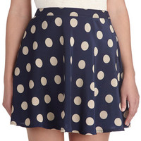ModCloth Vintage Inspired Short A-line Cool, Casual, and Collected Skirt