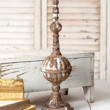 "19"" Tabletop Finial - *FREE SHIPPING*"