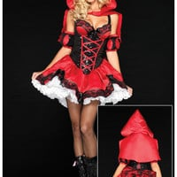 Little Red Cap Cosplay Anime Cosplay Apparel Holloween Costume [9211524356]