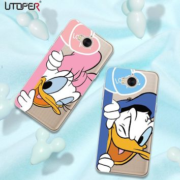 UTOPER Mouse Shell For huawei y5 2017 Case Mickey Silicone Phone Cases For Huawei y6 2017 Y3 2017 Y7 Y7 prime Y6 Pro 2017 Case
