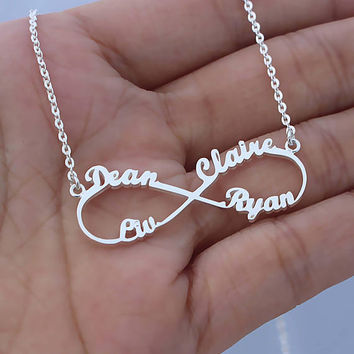 Infinity Symbol Necklaces - Infinity Necklace - Eternity Necklace - Promise For Eternity - Birthday Gifts